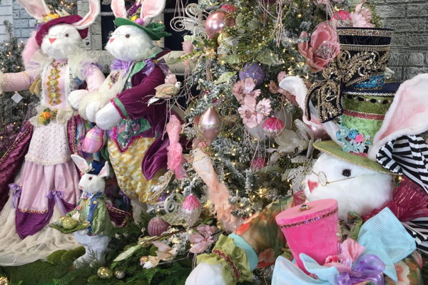 Easter Tree and Easter Bunnies