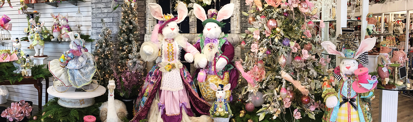 How To Create Easter Christmas Trees and Trending Spring Decor